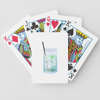 Cold Drink Bicycle Playing Cards