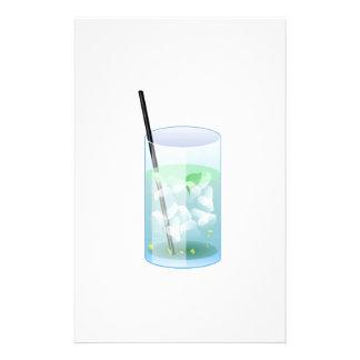 Cold Drink Custom Stationery