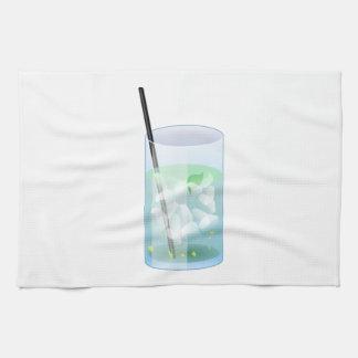 Cold Drink Kitchen Towel