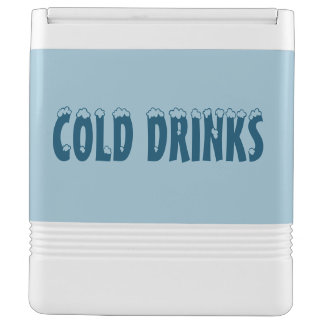 Cold Drinks Igloo Can Cooler Igloo Drink Cooler
