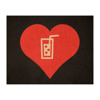 Cold Drinks Pictogram Cork Fabric