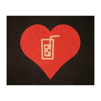Cold Drinks Pictogram Cork Paper