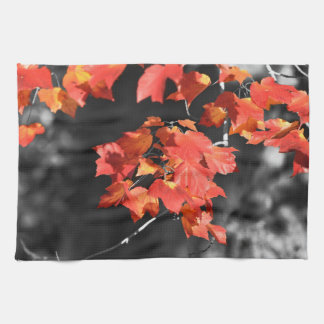 Cold Fall Kitchen Towel