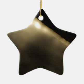 Cold Fire Ceramic Star Decoration
