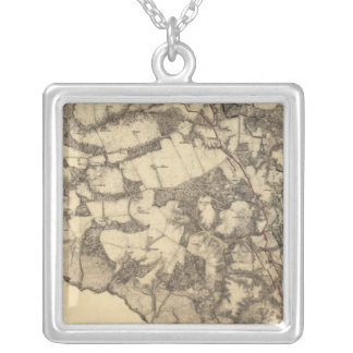Cold Harbor, Virginia Silver Plated Necklace
