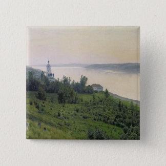 Cold Landscape, 1889 15 Cm Square Badge