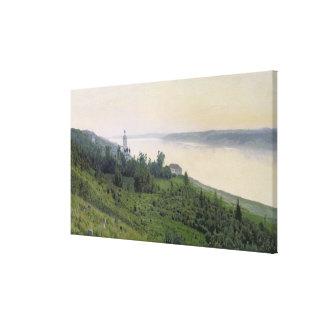 Cold Landscape, 1889 Canvas Print