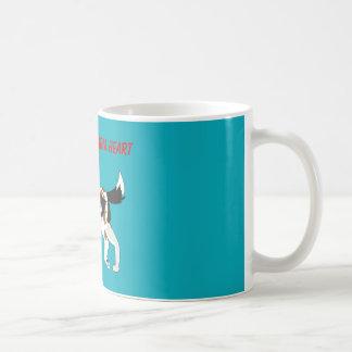 Cold Paws, Warm Heart Coffee Mug