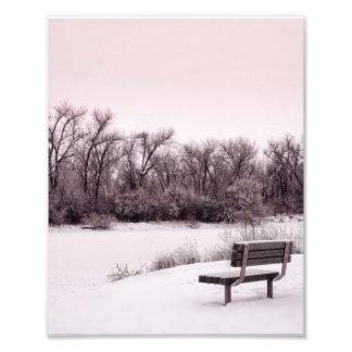 Cold Photo Print