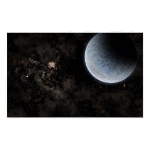 Cold Planet Poster