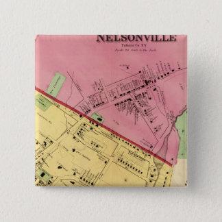 Cold Spring, Nelsonville 15 Cm Square Badge