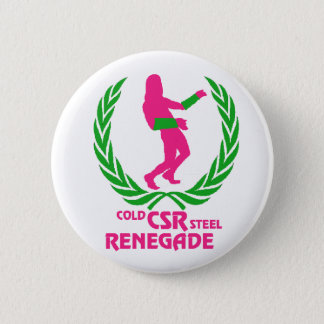 Cold Steel Renegade 6 Cm Round Badge