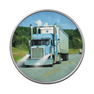 Cold-Storage Lorry for Truckers & Truck-lovers Jelly Belly Candy Tins