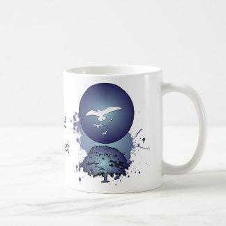 Cold Sunset Coffee Mugs