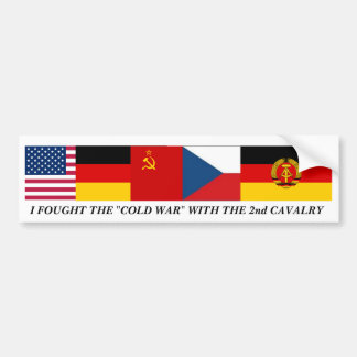 Cold War Bumper Sticker