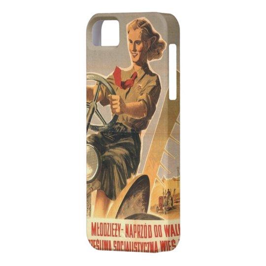 Cold war era Polish Propaganda iPhone 5 Cover