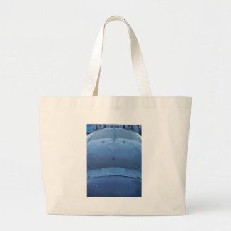 Cold War Helicopter Large Tote Bag