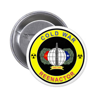 Cold War Reenactor 6 Cm Round Badge