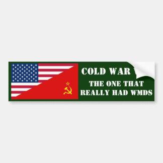 COLD WAR VET BUMPER STICKER