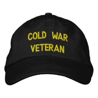 COLD WAR VETERAN EMBROIDERED BASEBALL CAP