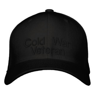 Cold War Veteran Hat (subdued) Embroidered Baseball Cap