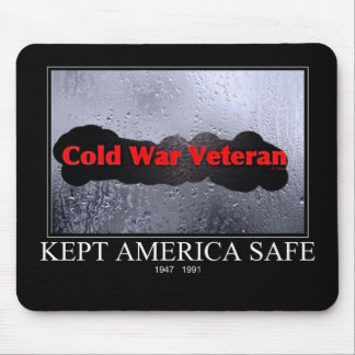 Cold War Veteran Mouse Pad