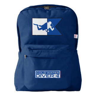 Cold Water Diver American Apparel Pack Backpack