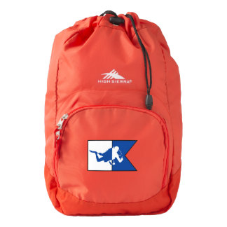 Cold Water Diver High Sierra Drawstring Pack Backpack