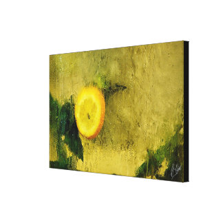 COLD WET ONE CANVAS PRINT
