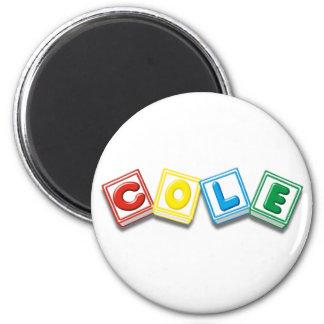 Cole 6 Cm Round Magnet