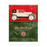 Cole Aero-Eight Vintage Car Ad Post Cards