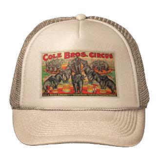 Cole Bros. Circus Cap