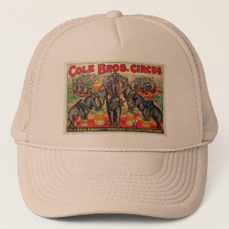 Cole Bros. Circus Trucker Hat