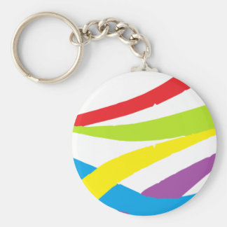Colection carnival basic round button key ring