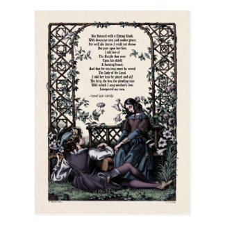 "Coleridge ""Love"" Victorian Postcard"