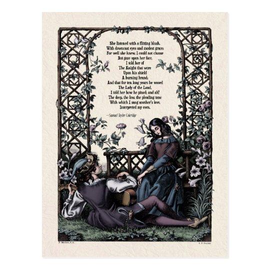 "Coleridge ""Love"" Victorian Postcard"