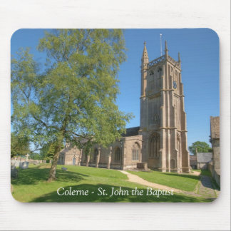 Colerne St John the Baptist Mouse Mat