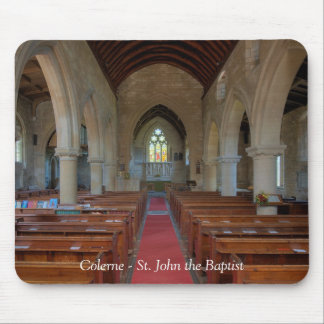 Colerne St John the Baptist Mouse Pad