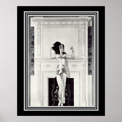 Coles Phillips Vintage Art Deco Ad Poster 16
