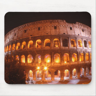 Colesseum at Night Mouse Mat