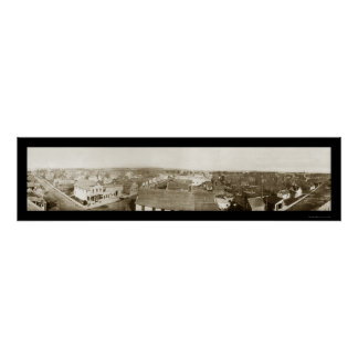 Colfax Wisconsin Photo 1912 Poster
