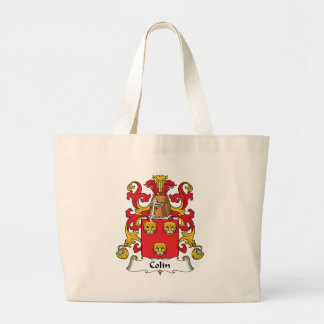 Colin Family Crest Large Tote Bag