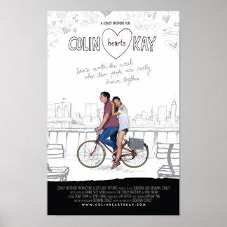 Colin Hearts Kay - poster 11 x 17