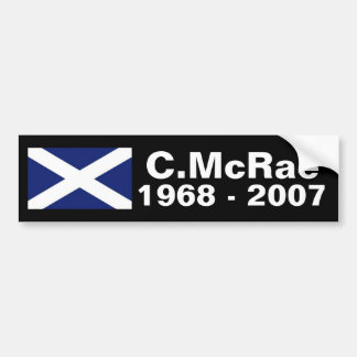 Colin McRae memorial sticker