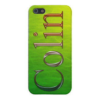 COLIN Name Branded iPhone Cover iPhone 5/5S Covers