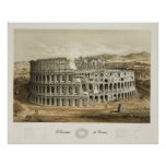 Coliseum at Rome Poster