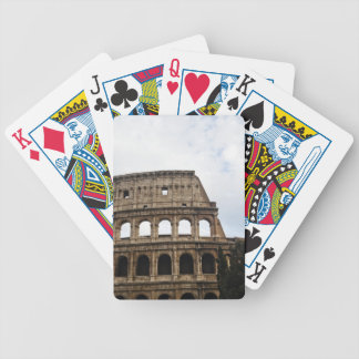 Coliseum Bicycle Playing Cards