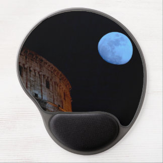 Coliseum of Rome in Moonlight Gel Mouse Pad