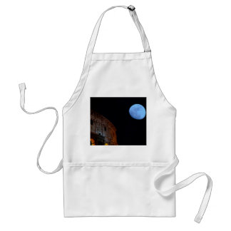 Coliseum of Rome in Moonlight Standard Apron
