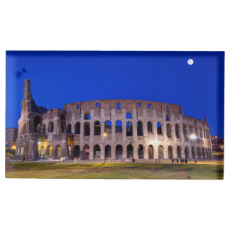 Coliseum, Roma, Italy Table Card Holders
